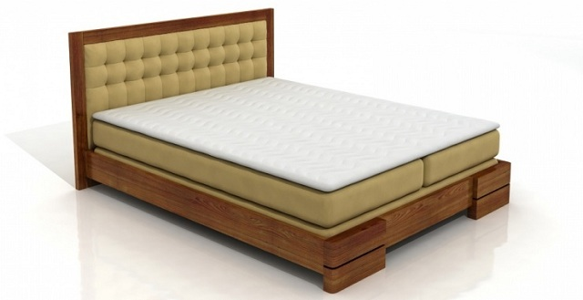 łóżko drewniane Visby