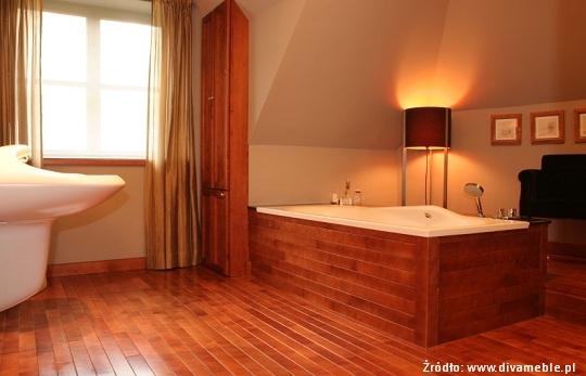 łazienka w drewnie Divameble