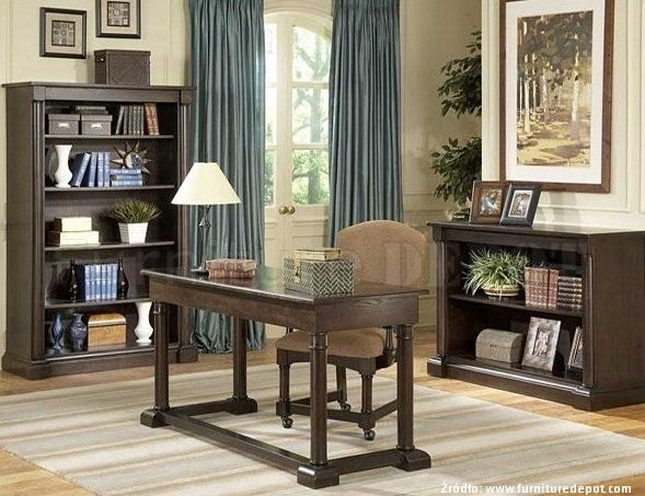 Gabinet w stylu klasycznym