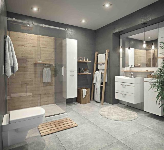 Łazienka w stylu Hygge w nowoczesnym wydaniu