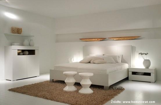 Oświetlenie sypialni
