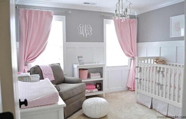 pok j niemowl cy dla dziewczynki nie tylko w r u meble zdj cia projekty wn trza. Black Bedroom Furniture Sets. Home Design Ideas