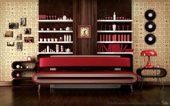 Salon wstylu retro