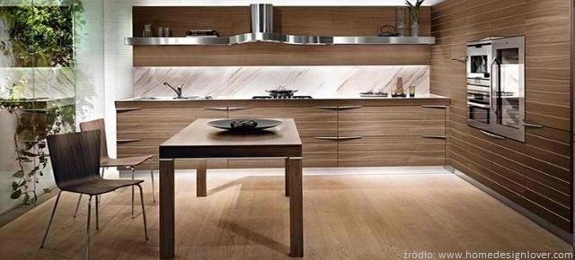 Kuchnia cała w drewnie  Meble  zdjęcia, projekty   -> Kuchnia Drewniana Olcha