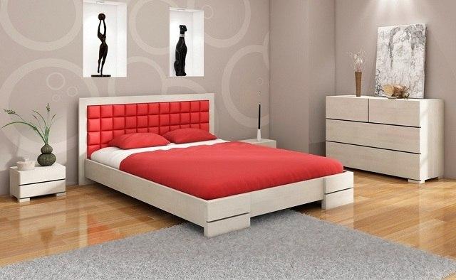 Nowoczesna Sypialnia W Drewnie Drewniane łóżka Komody