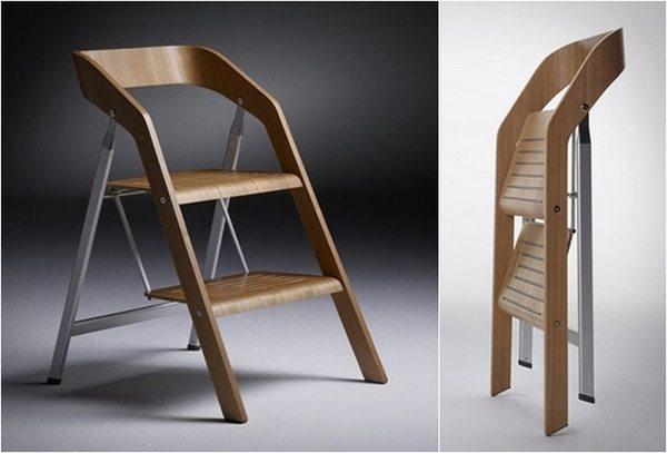 Keukentrapje Design : Krzesło, czy drabina? Meble zdjęcia, projekty