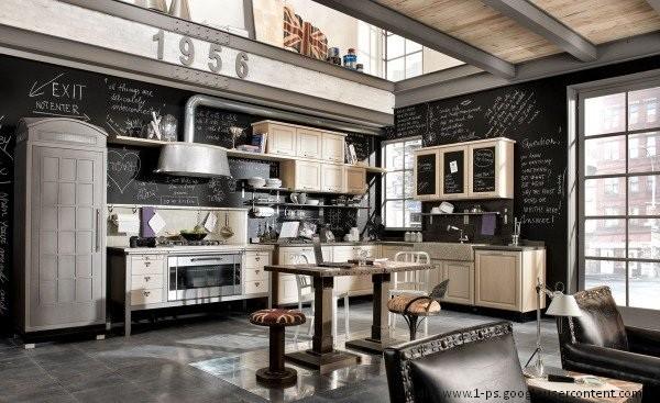 Projekty kuchni w stylu industrialnym meble zdj cia - Marchi cucine moderne ...