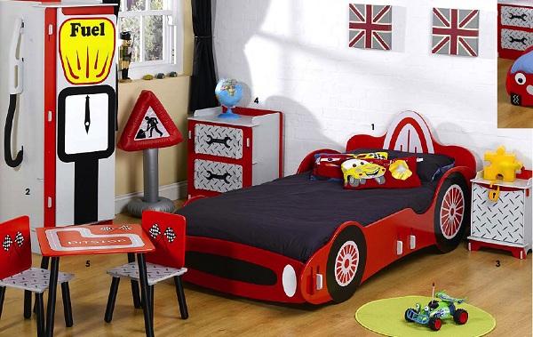Meble do pokoju chłopca Wonder Toy