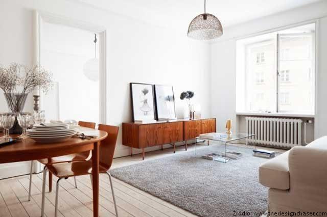 Wn trza w stylu prl meble zdj cia projekty wn trza for 1950s minimalist house