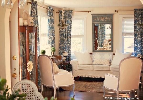 Salon w stylu prowansalskim jak urz dzi meble for French furniture designers modern