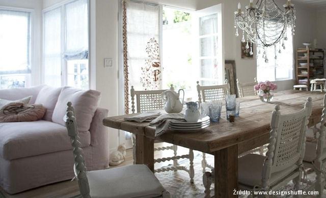 Salon w stylu prowansalskim jak urz dzi meble for Dos arredamenti