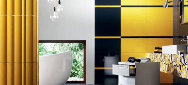 Płytki wielkoformatowe w aranżacjach łazienek