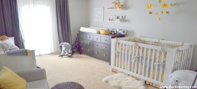 Pokój niemowlęcy dla dziewczynki – nie tylko w różu!