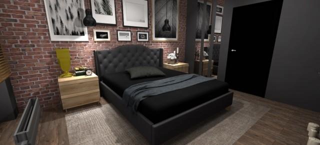 Zobacz projekt sypialni w wersji panoramy 360 dzięki CAD Share-it