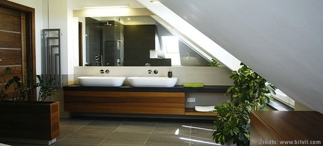 łazienka Na Poddaszu Projekty I Aranżacje Meble