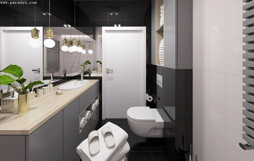 Sprawdzone sposoby na wąską łazienkę